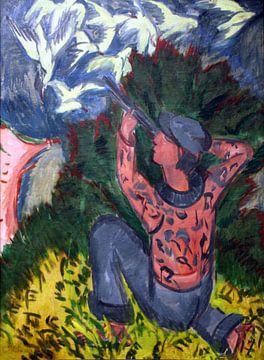 Ernst Kirchner.Der Jäger