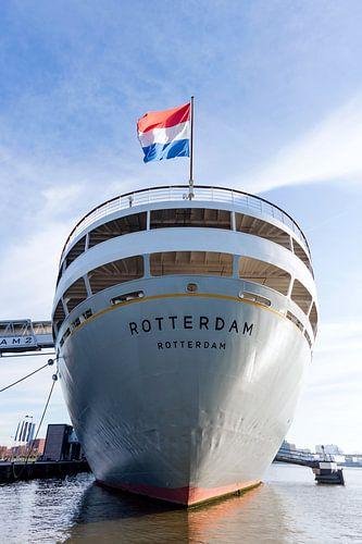 achtersteven van stoomschip Rotterdam