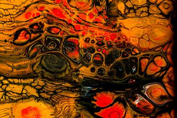 Acryl kunst 1950 van Rob Smit