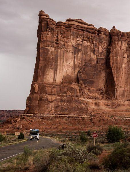 Tower of Babel, Arches National Park, Utah van Dirk Jan Kralt
