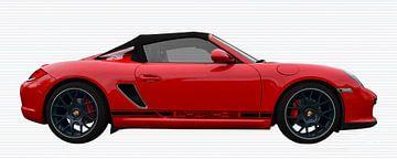Porsche Boxster Spyder Typ 987 von aRi F. Huber