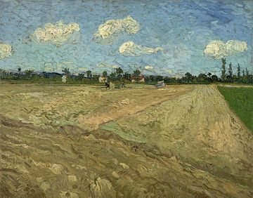 Gepflügte Felder - Vincent van Gogh