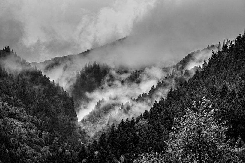 Alpen @ Sankt-Gallenkirch von Rob Boon