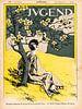 Jugendstil, Vintage tijdschrift cover Jugend 30 April 1898 van Martin Stevens thumbnail
