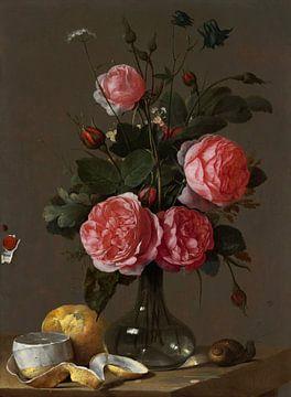 Blumenstillleben, Cornelis de Heem