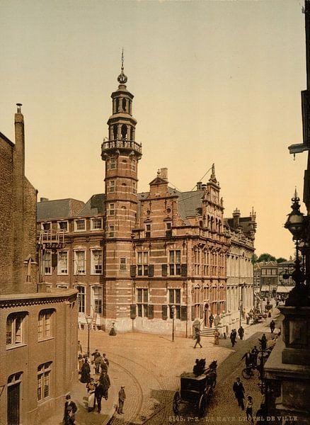 Stadhuis Den Haag van Vintage Afbeeldingen
