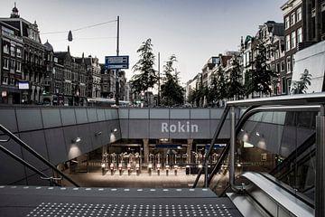 Amsterdam | Rokin, boven en ondergronds van Mark Zoet