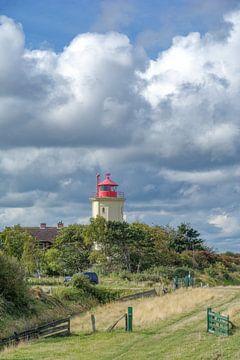 Leuchtturm von Westermarkelsdorf auf Fehmarn von Peter Eckert