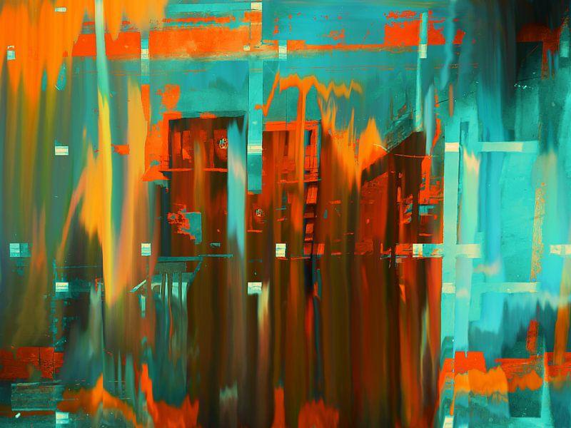 Orange city sur Gabi Hampe
