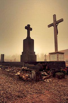 "Ghost town France ""Cross"" van Thijs GROENHUIS"