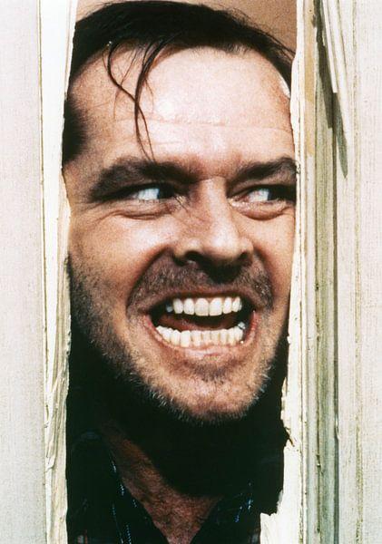Jack Nicholson in Shining von Bridgeman Images