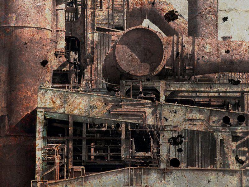 The Old Factory 3 van Jacques Vledder