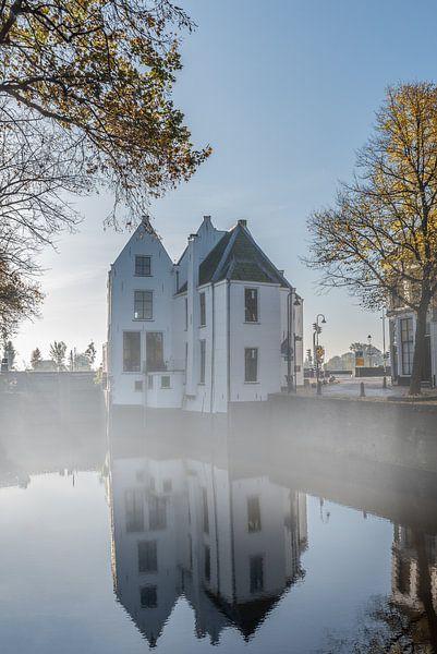 Tolhuis van Gouda sur une matinée d'automne sur Remco-Daniël Gielen Photography