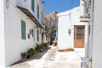 Straße auf Samos von Elly Damen