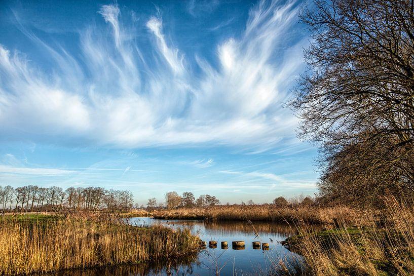 Wolkenlucht van Arthur Schotman