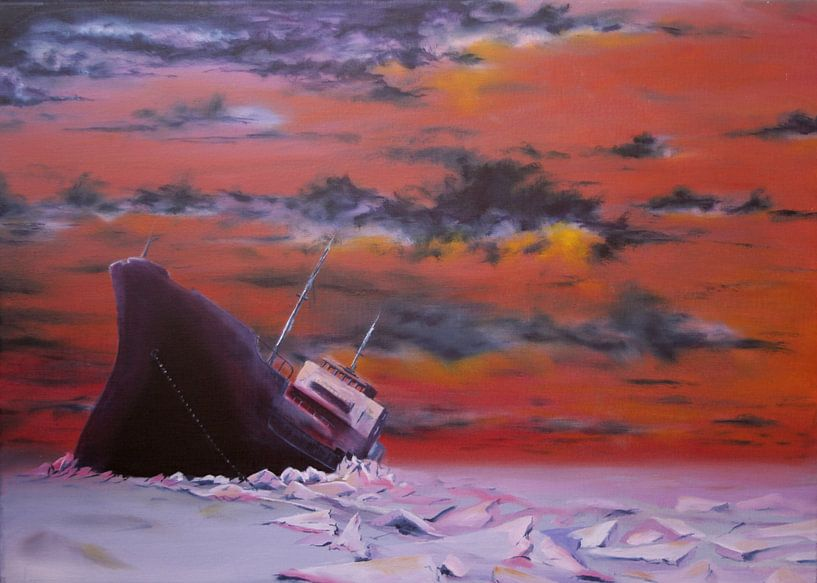 crushed ice / ijsbreker van David Berkhoff