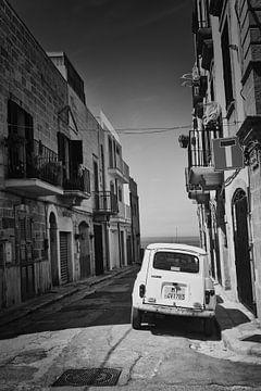 De straat naar de zee in zwart-wit van iPics Photography