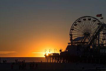 Santa Monica Pier von Robert Styppa