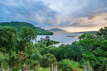 Eilean Donan Burg in Schottland von Lex van Doorn