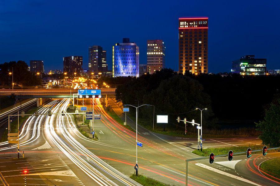 Utrecht skyline zuid van Anton de Zeeuw
