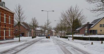 Rolduckerweg Simpelveld in de Sneeuw
