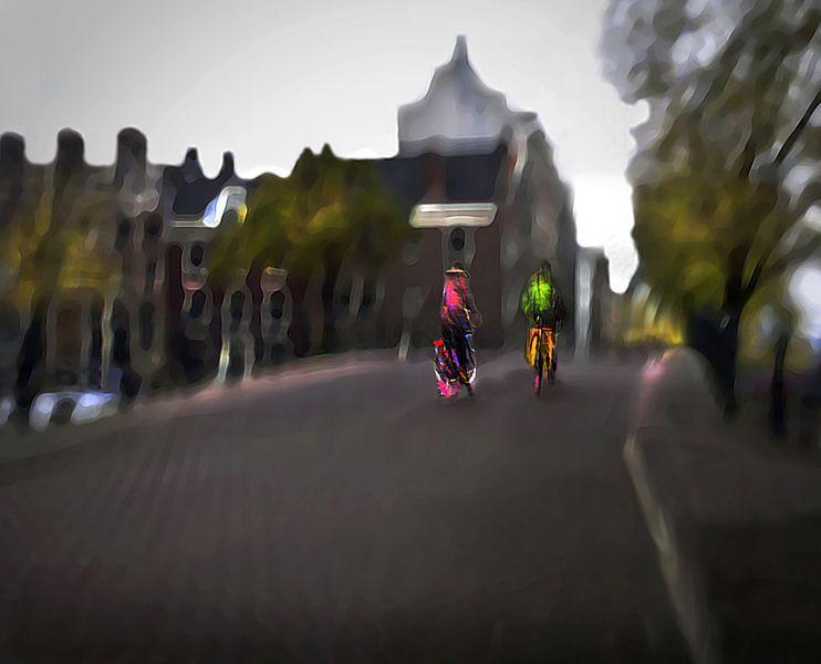 Amsterdam op de Fiets / Amstelbruggetje