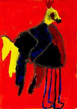 Happy Bird von Huibert van der Meer