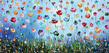 Blumen von Gena Theheartofart