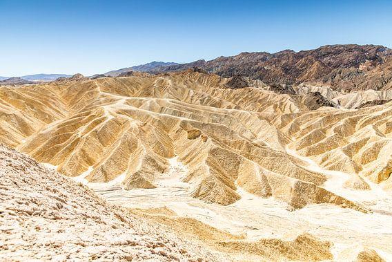 De droogte van Death valley