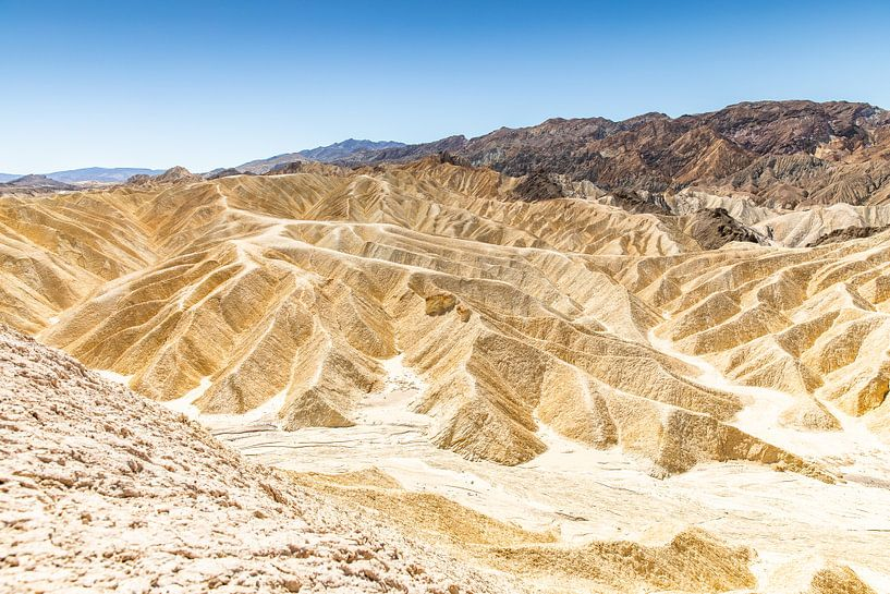 De droogte van Death valley van Martijn Bravenboer