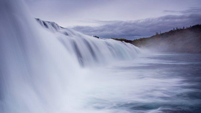 Faxifoss IJsland van Miranda Bos