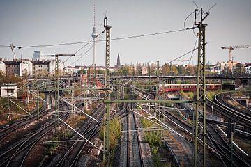 Berlin – S-Bahn-Skyline von Alexander Voss