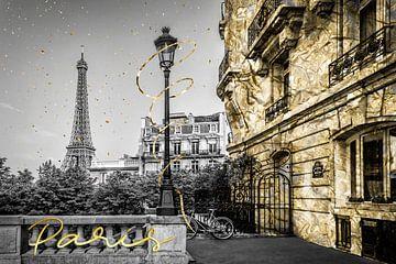 Pariser Charme | gold von Melanie Viola