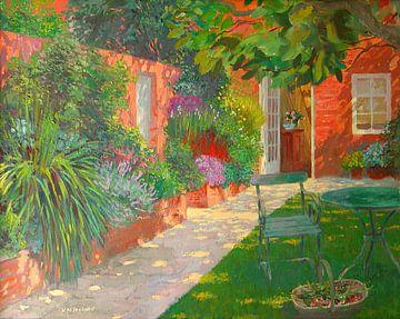Courtyard von William Ireland