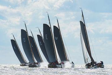 Skûtsjes (Close Racing) van Harry Eggens