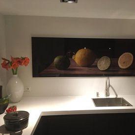 Photo de nos clients: Still life: Two kinds of citrus sur Alexander Tromp, sur acryl