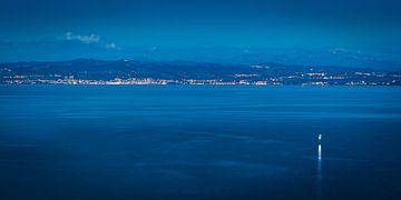 De Bodensee in de avond