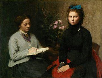Die Lesung, Henri Fantin-Latour