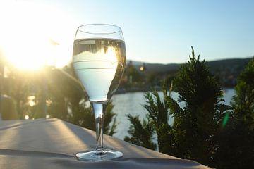 Boire au bord du lac