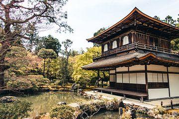 Ginkaku-ji tempel in Kyoto, Japan van Expeditie Aardbol