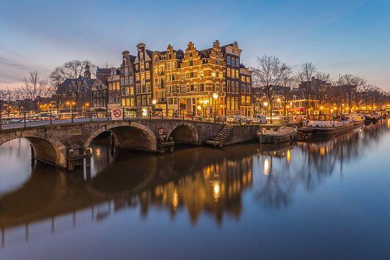 Papiermolensluis en Brouwersgracht in Amsterdam - 1