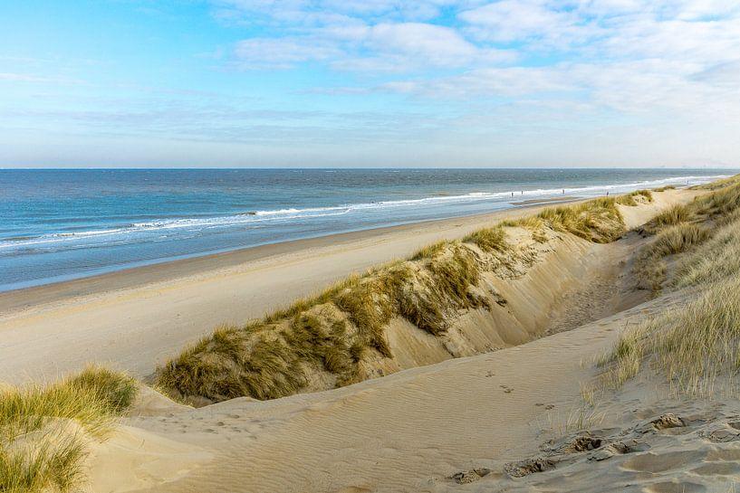 Strand en duinen aan de Nederlandse Kust van Michel van Kooten