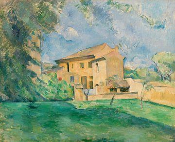 Der Bauernhof von Jas de Bouffan, Paul Cézanne (ca. 1887)