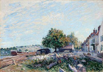 aint Mammès-Morgen, Alfred Sisley