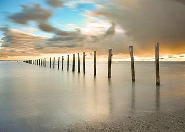Lange Exposition bedroht die Luft über dem Strand der Maasvlakte von Marjolein van Middelkoop