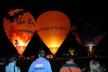 Luchtballonnen van Mark Franken