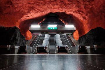 Stockholm metro van Kevin IJpelaar