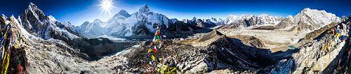 Nepal Mount Everest van Björn Jeurgens