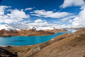 Yamdrik meer in Tibet