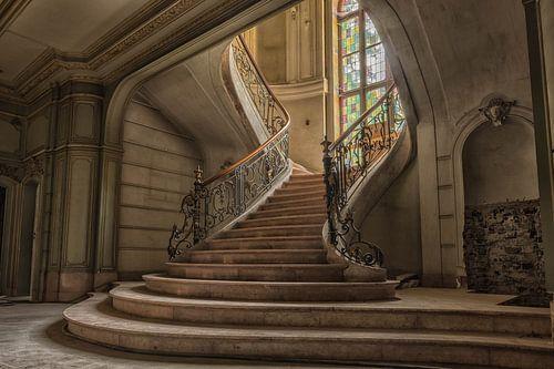 Sunny Stairs van Guy Bostijn